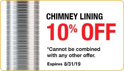 10% Chimney Lining Coupon