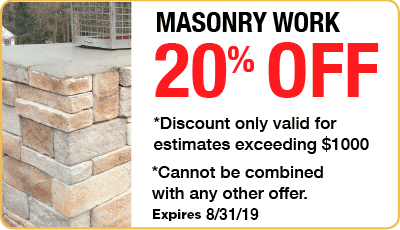 20% Off Masonry Repair Coupon